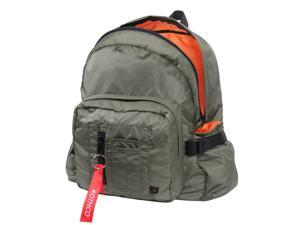 Rothco MA-1 Bomber Backpack, Travel Pack, Sage Green w/Orange Lining
