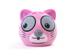Impecca Zoo-Tunes Portable Mini Character Speakers for MP3 Players, Tablets, Laptops etc. (Kitten) - MCS04