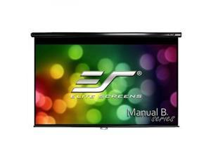 "Elite Screens Manual M120H Manual Projection Screen - 120"" - 16:9 - Wall/Ceiling Mount"
