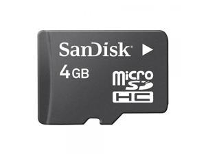 Sandisk 4GB MicroSDHC Memory Card with SD Adapter ...