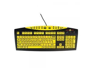 9979a609eac Keys-U-See Large Print Keyboard-Yellow ...
