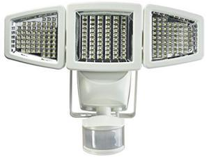 Sunforce 82183 - 180 LED Triple Head Solar Powered Motion Activated 1200 Lumens Flood Light