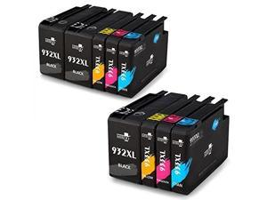 Miroo Compatible Ink Cartridge Replacement For Hp 932 933 High Yield With Officejet