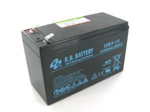 BB Battery 12V 8Ah AGM Battery with F2 Terminal