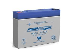 Power-Sonic PS-1228-F1 Sealed Lead Acid Battery