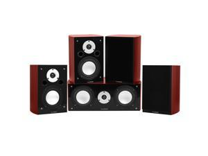 Fluance Reference Series Compact Surround Sound Home Theater 50 Channel Speaker System Including Two Way