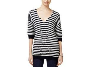 77540dd60462 Tommy Hilfiger Womens Striped Cable Pullover Sweater ...