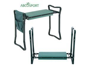 Abco Tech ABC2098 Garden Kneeler & Seat - Foldable for Ease of Storage
