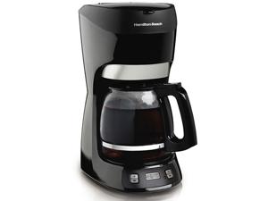 Hamilton Beach 49467 12 Cup Programmable Coffeemaker, Black
