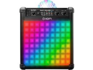 Ion Wireless Rechargeable Speaker with Multi-Effect Party Lights