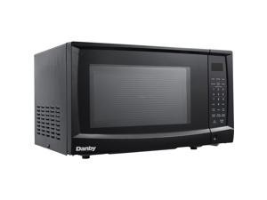 Danby DMW07A4BDB 0.7 Cu. Ft. Countertop Microwave, Black