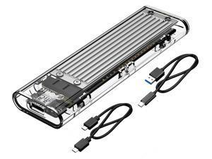 Orico Tcm2-C3 Aluminum USB 3.1 Gen2 Type-C Protocol with Type-C to C Cable