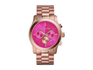 44ae0c9aa352 Michael Kors Runway Quartz Analog Pink Dial Women s Watch MK5931