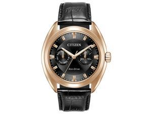 Citizen BU4013-07H Black Rose Gold-Tone Stainless Steel Men's Watch