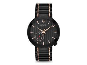 9715e40b1 Bulova 98A188 Special Latin GRAMMY Edition Men's Watch Black ...
