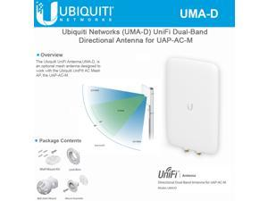 Ubiquiti Networks UMA-D High Efficiency Dual Band Directional Mesh Antenna