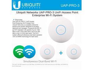 Ubiquiti UniFi AP Pro 3 pack, UAP Pro 3-Pack Access Point 3 Pack, UAP-Pro-3-US
