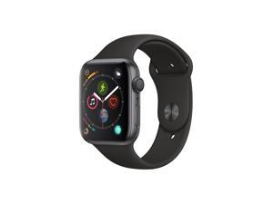 Apple Watch Series 4 (GPS), 44mm Space Gray Aluminum Case with Black Sport Band - Space Gray Aluminum - MU6D2LL/A