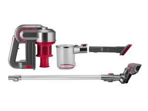 Kalorik Red/Silver 2-in-1 Cordless Cyclonic Vacuum Cleaner