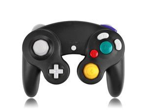 Gamecube Controller - Game Controller Pad Adapter Gamepad for Nintendo GameCube GC or Wii Black