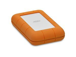 LACIE Rugged 4TB Thunderbolt USB-C Portable Drive Model STFS4000800