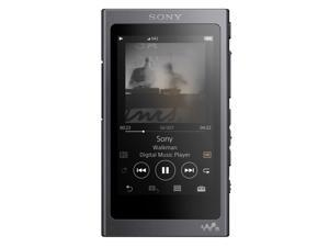 Sony NWA45/B Walkman with Hi-Res Audio and Digital Noise-Cancelling (Black)