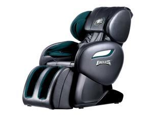 NFL Philadelphia Eagles Electric Full Body Shiatsu Massage Chair Foot Roller Zero Gravity w/Heat EC60 Philadelphia Eagles