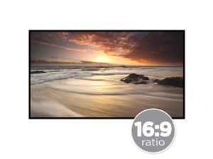 Best Choice Products 120in 16:9 HD Portable Folding Roll-Up Large Movie Projector Screen w/ Hook & Loop Fasteners