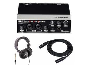 Steinberg UR22MKII 2-Channel Audio Interface with Headphones and 2 XLR Cables