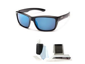 9c34816a69fb3 Suncloud Mayor Injection Sunglasses (Black Frame