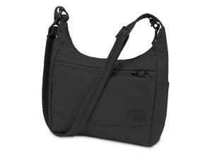 Pacsafe Citysafe CS100-Black Anti-Theft Travel Handbag w  ... 9d1b68a1391c4