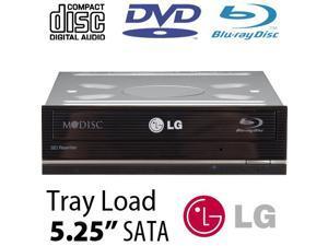 LG 16X Blu-ray Burner + Super-MultiDrive DVD/DVD DL/CDRW Read/Write - Serial-ATA Internal Model LGEWH16NS40