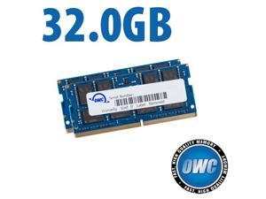 OWC 32.0GB (2x 16GB) PC4-21300 DDR4 2666MHz SO-DIMM 260 Pin Memory Upgrade Kit For 2018 Mac mini models and PCs which utilize PC4-21300 SO-DIMM Model OWC2666DDR4S32P