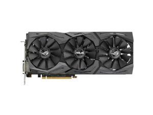Strix STRIX-RX480-8GGAMING Radeon RX 480 Graphic Card - 1.27 GHz Boost Clock - 8 GB GDDR5 - PCI Express 3.0 - Dual Slot Space Required - 256 bit Bus Width - Fan Cooler - OpenGL 4.5 - 2 x DisplayPort -