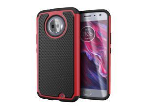 Moto X4 Case, Cimo [Shockproof] Heavy Duty Shock Absorbing Hybrid Protection Cover for