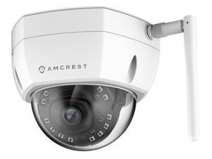 Amcrest ProHD Outdoor 2 Megapixel WiFi Vandal Dome IP Security Camera - IP67 Weatherproof, 2MP (1920 TVL), IP2M-851W (White)