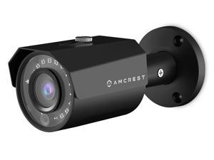 Amcrest 4MP POE IP Camera UltraHD Outdoor Security Camera Bullet - IP67 Weatherproof, 4-Megapixel (2688 TVL), 98ft Night Vision, Surveillance Camera, IP4M-1024E (Black)