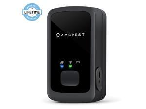 Amcrest GPS Tracker – 2G Portable Mini GPS Tracking Device for Vehicles, Cars, Kids, Persons, Assets Hidden Tracker w/Geo-Fencing, Text/Email/Push Alerts, 14 Day Battery, Global, No Contract AM-GL300