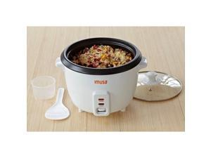 IMUSA GAU-00013 White 8-Cup Rice Cooker