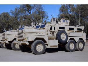 Cougar Mine Resistant Ambush Protected Vehicles Poster Print by Stocktrek Images (17 x 11)