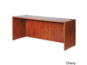 Boss 71-inch Cherry or Mahogany Finished Credenza Shell