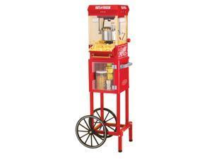 Nostalgia Electrics KPM200CART 48-inch Vintage Popcorn Cart