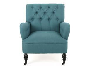 Christopher Knight Home Randle Haven Tufted Studded Fabric Club Chair