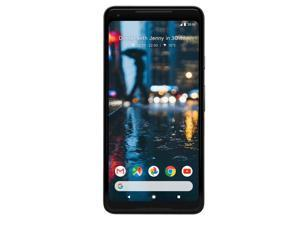 Google - Pixel 2 with 64GB Memory Cell Phone - Just Black (Unlocked)