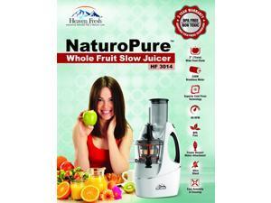 Heaven Fresh HF 3014 Whole Fruit Slow Juicer - Ultra Silent / BPA Free