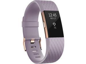 Fitbit Charge 2 Smart Band - Wrist - Accelerometer, Altimeter, Optical Heart Rate Sensor - Calendar, Silent Alarm, Alarm, Text Messaging - Heart Rate, Sleep Quality, Calories Burned, Steps Taken, ...