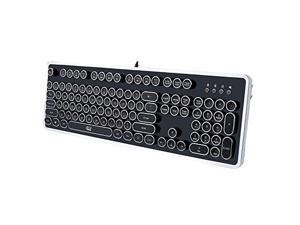 brand new aecbd 6652e Adesso Desktop Mechanical Typewriter Keyboard Keyboard