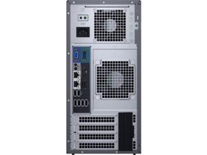 Dell PowerEdge T130 Mini-tower Server - 1 x Intel Xeon E3-1220 v6 Quad-core (4 Core) 3 GHz - 8 GB Installed DDR4 SDRAM - 1 TB (1 x 1 TB) Serial ATA/600 HDD - Serial ATA, Serial Attached SCSI (SAS) ...