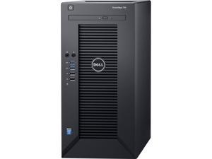 Dell PowerEdge T30 Mini-tower Server - 1 x Intel Xeon E3-1225 v5 Quad-core (4 Core) 3.30 GHz - 8 GB Installed DDR4 SDRAM - 1 TB (1 x 1 TB) Serial ATA/600 HDD - Serial ATA/600 Controller - 290 W