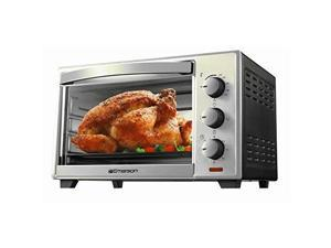 Emerson ER101003 Stainless Steel 6 Slice Convection and Rotisserie Countertop Toaster Oven